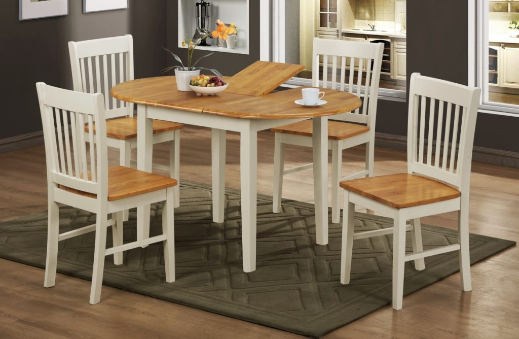 Required Goods Dining Set Rubber wood and Solid Oak